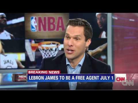 CC- Lebron James  becomes free agent