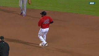 Ortiz steals first base since 2013