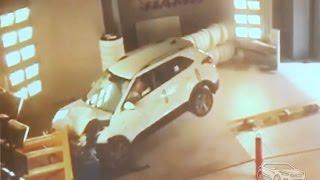 Краш-тест Hyundai Creta (Центр испытаний автомобилей НАМИ)