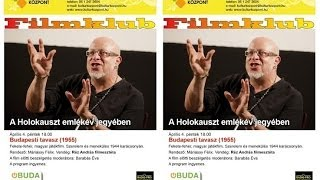 Óbuda a kultúra városa Filmklub a 3K-ban Budapesti tavasz 2014.04.04.