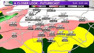 FUTURECAST: Winter storm in Charlotte