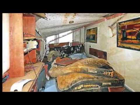 Costa Concordia vue d\'intérieur après 20 mois sur le flanc - YouTube