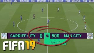 HOW MANY GOALS CAN YOU SCORE IN 1 FIFA 19 GAME?