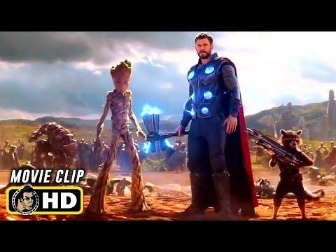 AVENGERS: INFINITY WAR (2018) Clip - Thor Arrives in Wakanda [HD]