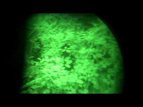 ITT Pinnacle Gen 3 Nightvision Image Intensifier Tube Video Test 1