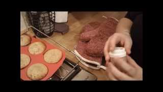 Paleo Banana Almond Muffins Demonstration
