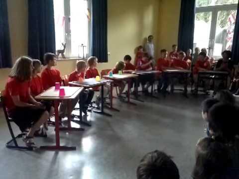 Becher Rap - Klasse 4B Fährmann Schule Recklinghausen 2012