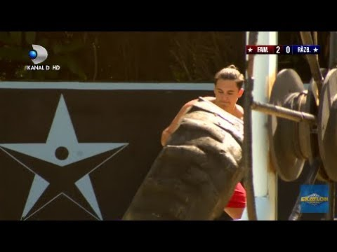 Exatlon Romania (20.01.2019) - Mario Fresh, pus in dificultate pe traseu! Cum s-a redresat?