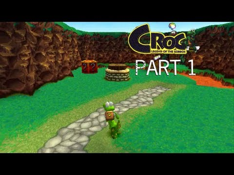 Let's Play Croc: Legend of the Gobbos - Part 1: Green Hill Zone