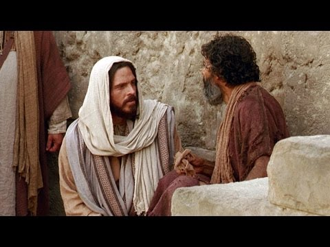 Jesus Heals a Man Born Blind -