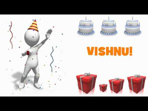 HAPPY BIRTHDAY VISHNU!
