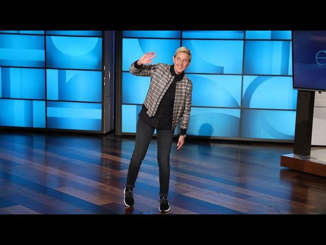 Ellen Shares Her Fave New Words on National Dictionary Day