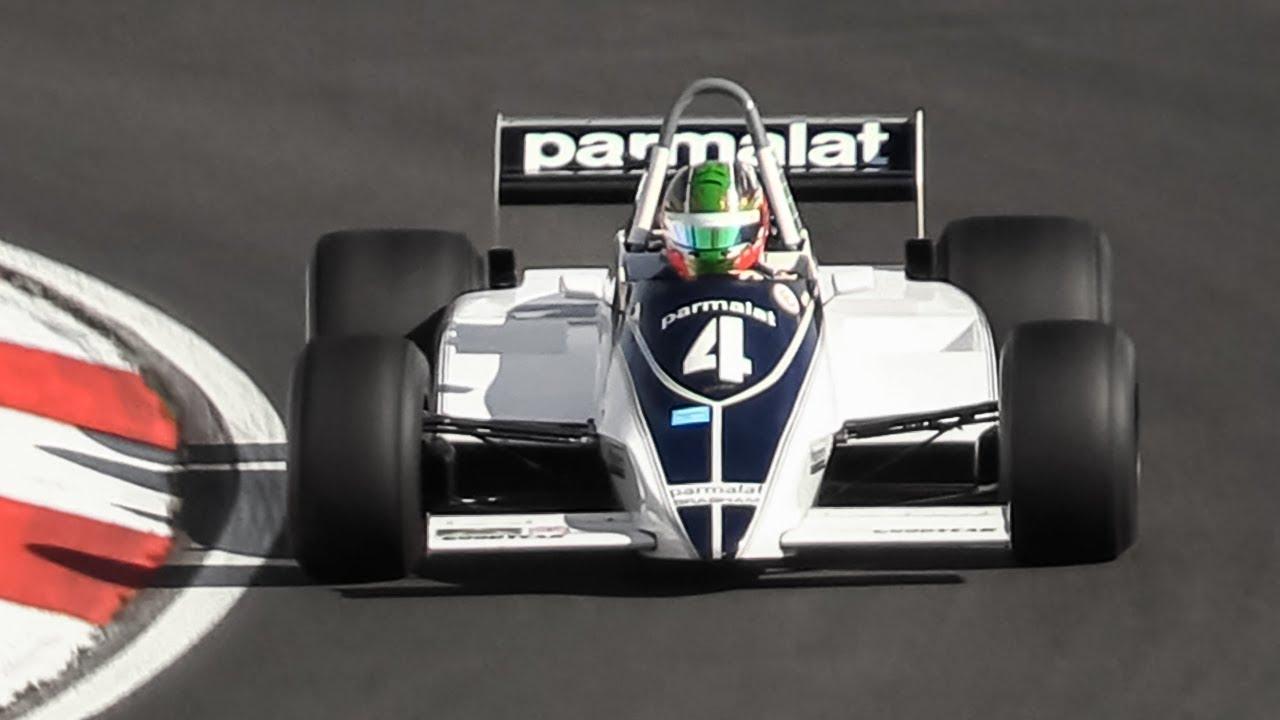Masters Historic Formula One 2019 Nürburgring: Brabham BT49C, Lotus 87B, Williams FW07