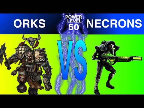 Warhammer 40k 8th Edition Live Battle Report Orks Vs Necrons