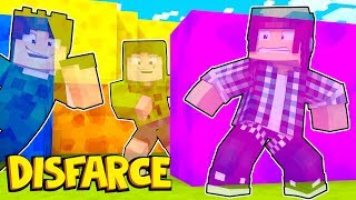 ESCONDE-ESCONDE COM DISFARCE TODO MUNDO INVISÍVEL !! - Minecraft