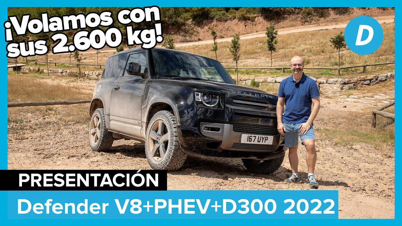 Land Rover Defender V8, PHEV y D300 2021 | Primera prueba | Review en español | Diariomotor