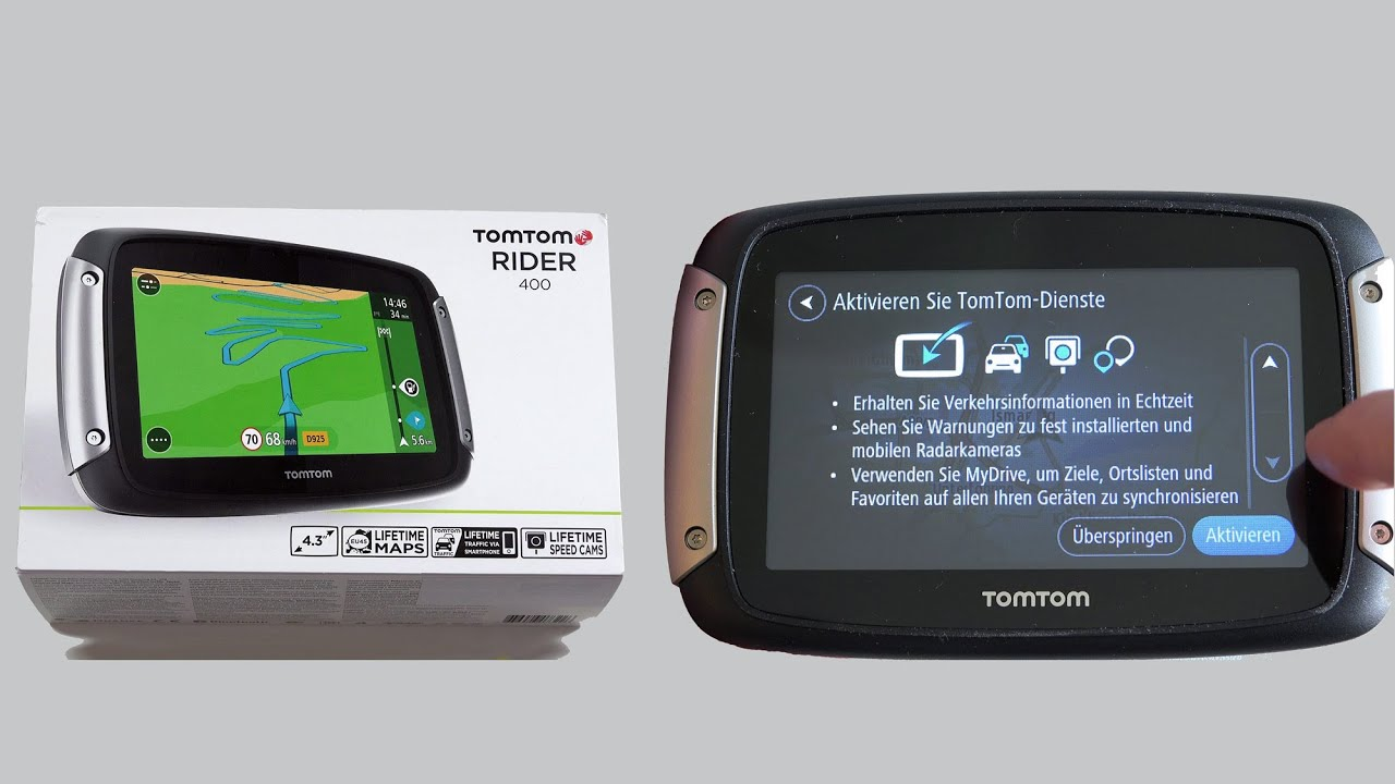 tomtom rider 400 motorrad navigationssystem im test youtube. Black Bedroom Furniture Sets. Home Design Ideas