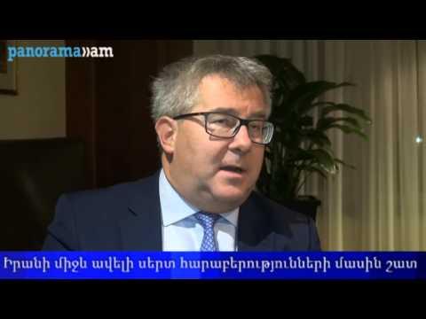 European Parliament Vice-President Ryszard Czarnecki in Armenia - Interview