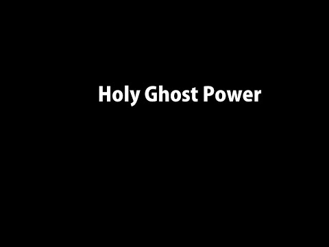 Holy Ghost Power Vocals Medley with Lyrics