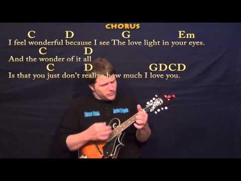 Wonderful Tonight (Eric Clapton) Easy Mandolin Cover Lesson with Lyrics/Chords