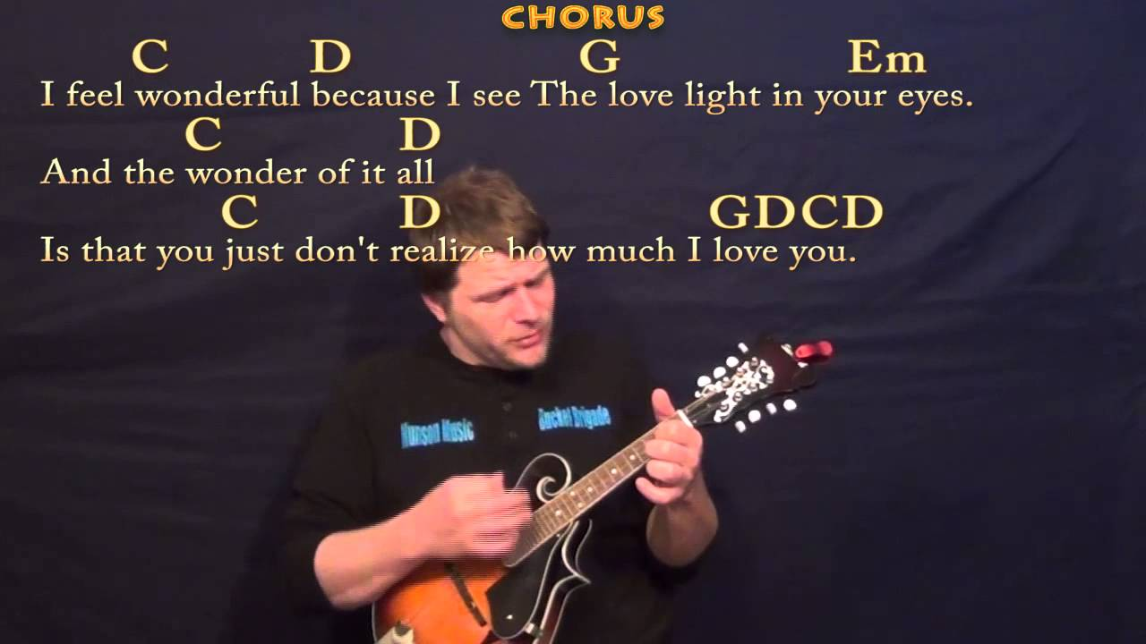 Wonderful Tonight Eric Clapton Easy Mandolin Cover Lesson With