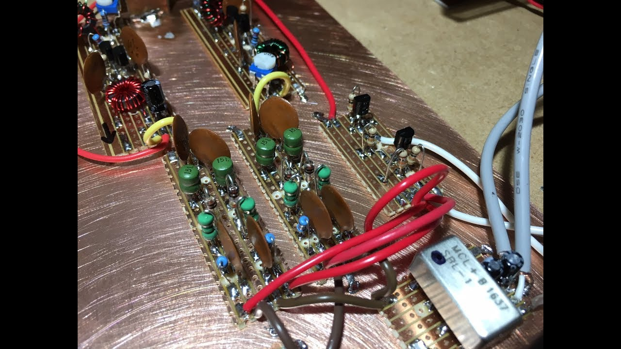 Simple Homebrew Ssb Cw Transceiver Part 7 Diode Rf Switching Youtube Circuit Diagram 80m 40m