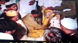 Ustad Nusrat Fateh Ali Khan Is Mured Of AL Haj Peer Ghulam Mustafa Chisty Sabri  In This Video
