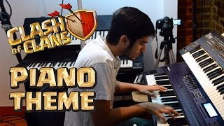 Clash of Clans Battle Theme on Piano - Tocando Música Tema do Clash no Piano ! Gelli Clash