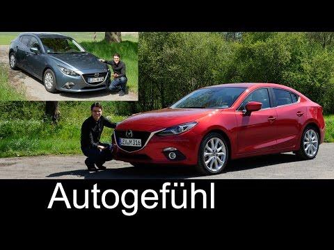Mazda3 FULL REVIEW test driven comparison sedan vs hatch & petrol vs diesel