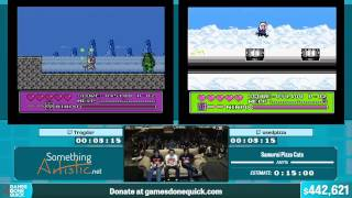 Samurai Pizza Cats by usedpizza, Trogdor in 12:25 - Summer Games Done Quick 2015 - Part 88