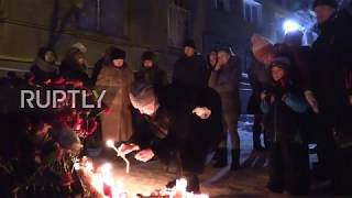 Russia: Magnitogorsk mourns the victims of collapsed apartment block