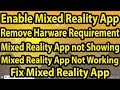 143 30570httpssupport Microsoft Comen Ushelp4045777windows 10 Get Help With Pc Compatibility In Windows Mixed Realityblockgpu