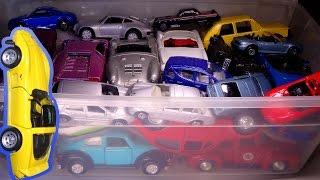 What's in the box: Random Toy Cars! VW, Corvette, Porsche, Mercedes, Trucks & MORE (Toy Cars #3)