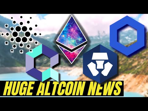 MASSIVE CRYPTO UPDATES | Chainlink, Cardano, Ethereum 2.0, Crypto.com and Quant Network