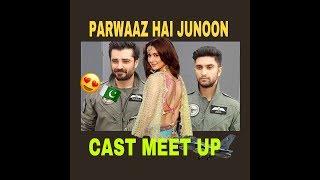 PARWAAZ HAI JUNOON | Star Cast at Emporium Mall | Hania Amir , Ahad Raza Mir and Hamza Ali Abbasi