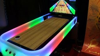 DiscGlo Shuffle - Virtual Shuffleboard Bowing Game - BOSA 2014 Silver Award - BMIGaming - Arach