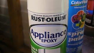 Rustoleum Appliance Epoxy Paint Test