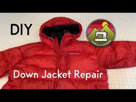 How To Repair A Hole In A Down Jacket