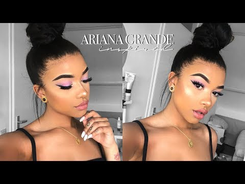 Ariana Grande Inspired Makeup & Hair