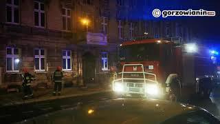 Podpalacz w centrum Gorzowa? Nocna akcja strażaków przy Kwadracie