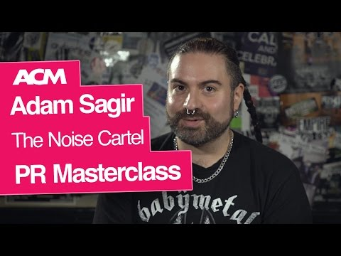 Music PR Masterclass with Adam Sagir