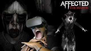 I THINK I'M DONE WITH VR HORROR GAMES | Affected: The Manor Oculus Rift REACTION thumbnail