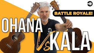 Battle Royale! Kala KA-T vs Ohana TK-14 | Tenor Ukulele Comparison!