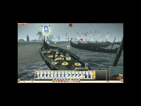 Rome II British Port Siege