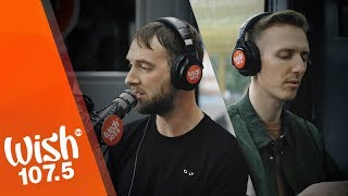 "Download HONNE (feat. Beka) performs ""Location Unknown"" LIVE on Wish 107.5 Bus"