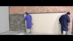 Thin Porcelain: Wall Installation