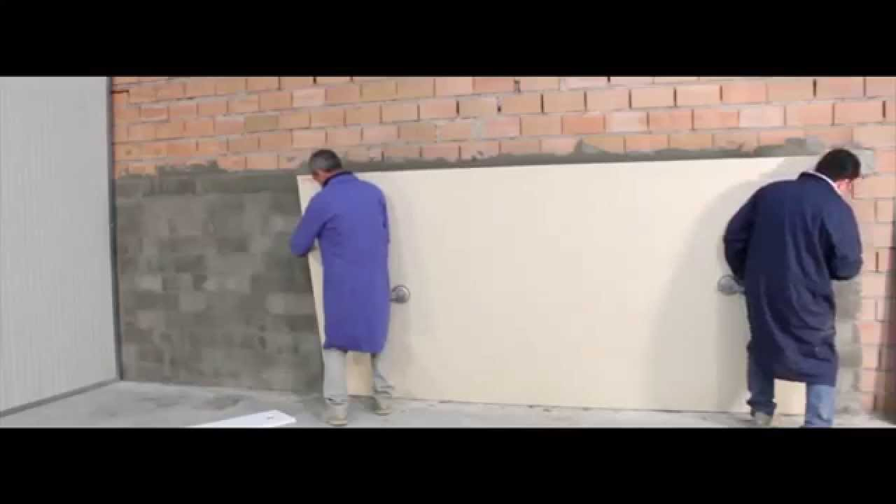 Thin Porcelain Wall Installation Youtube
