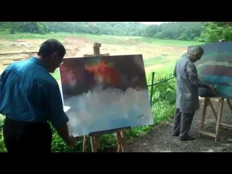 A Video Clip on the Painters Camp