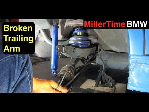 BMW Broken Rear Suspension, FIXED!