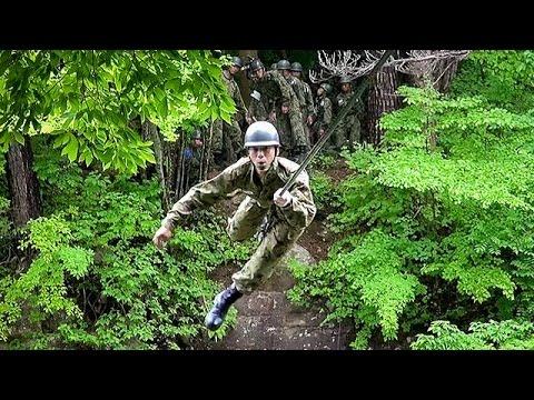 陸上自衛隊レンジャー養成訓練 「ロープ橋訓練」と「山地総合訓練」を公開